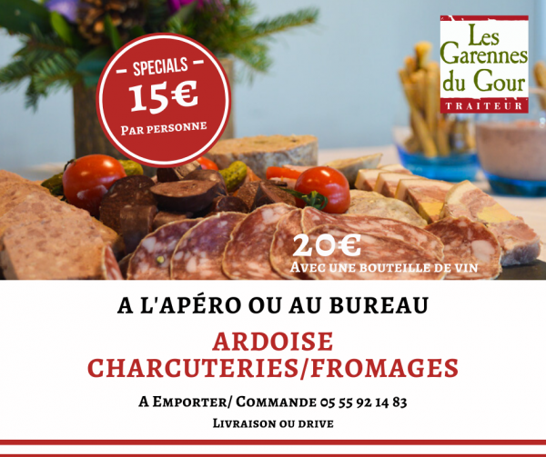 ARDOISE CHARCUTERIES/FROMAGES
